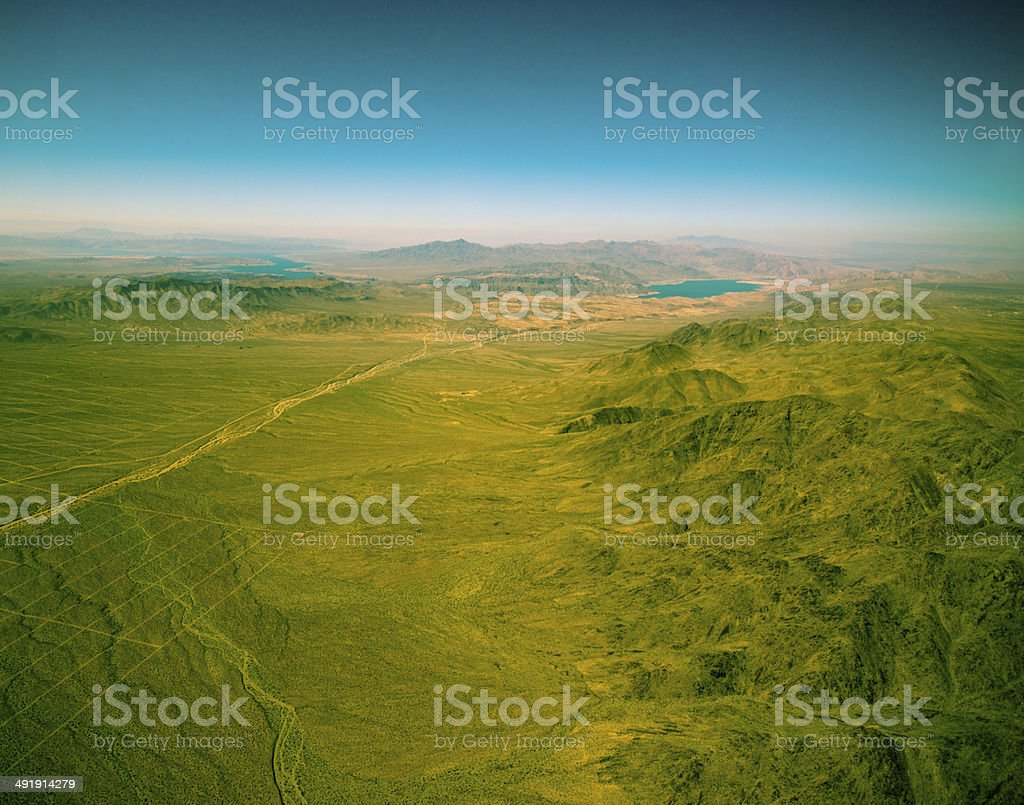 Hualapai Indian Reservation royalty-free stock photo