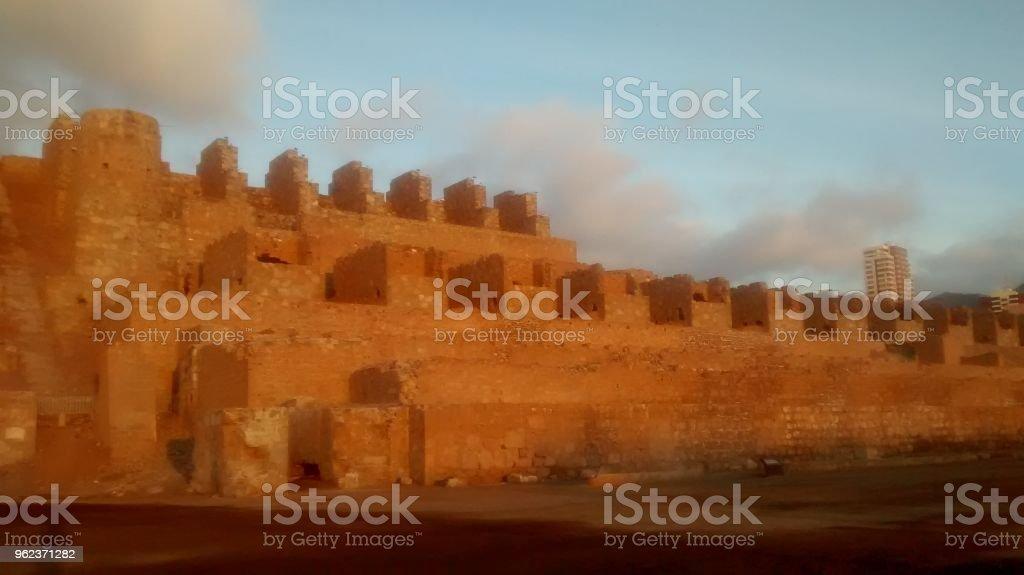 Huanchaca ruins in Antofagasta stock photo