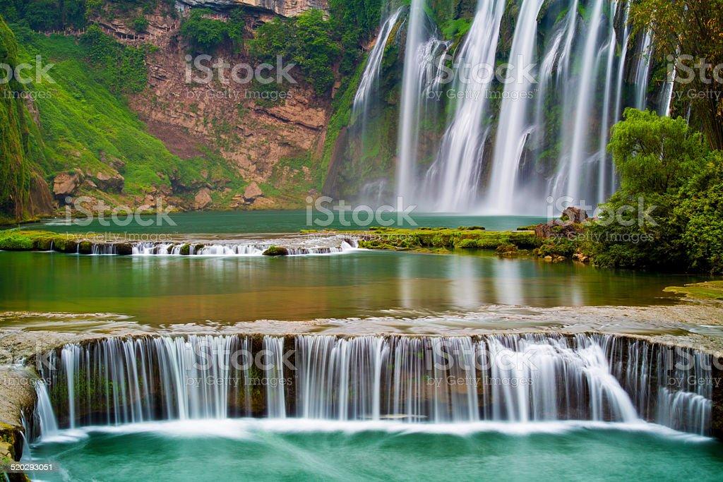 HuangguoshuWaterfall,guizhou, China stock photo