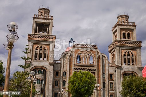 Huaraz colonial cathedral – Ancash province, Peru