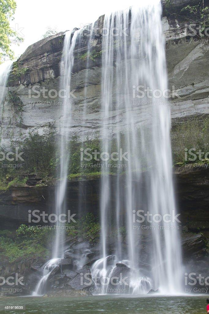 Huayluang Waterfall, Ubonratchathani, Thailand royalty-free stock photo