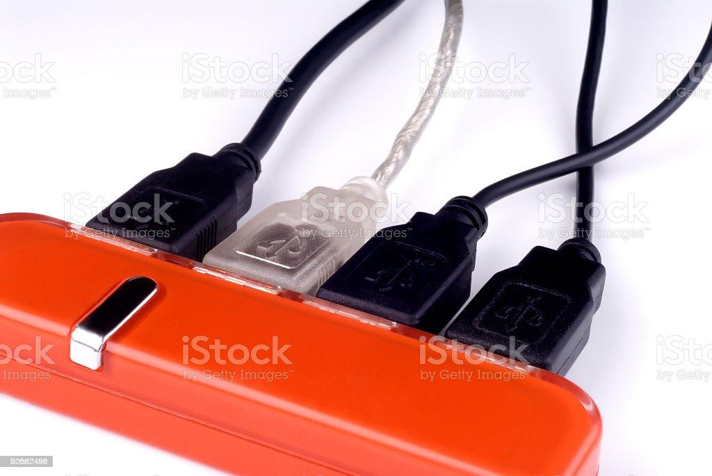 USB Hub 01 stock photo