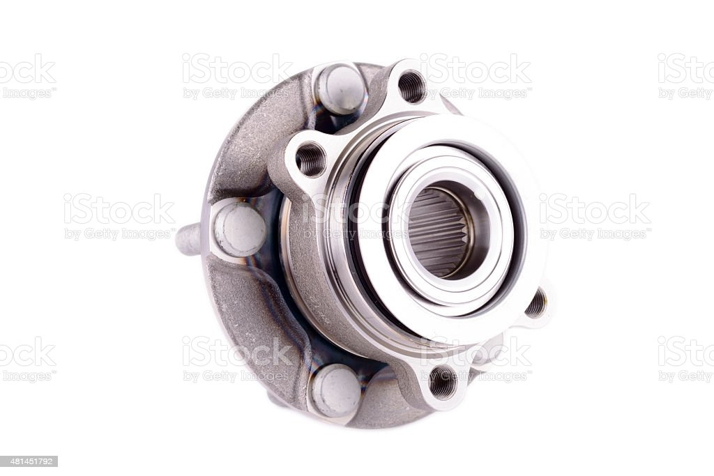 hub and wheel bearing kit stock photo