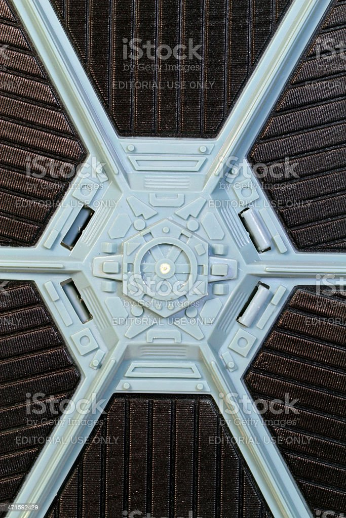 Hub of The Wing royalty-free stock photo