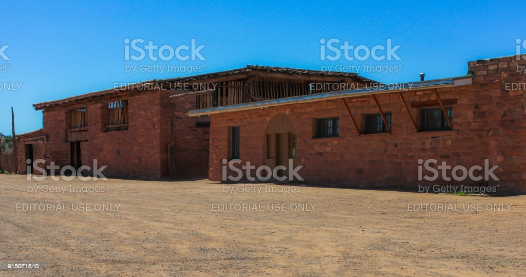 Hubbell Trading Post National Historic Site - Arizona stock photo