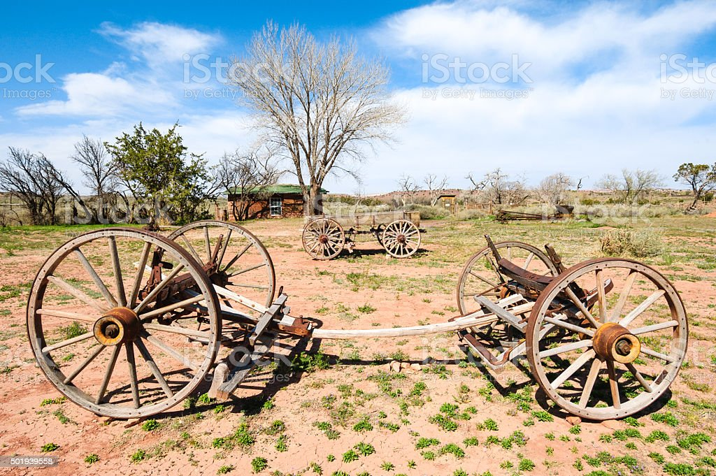 Hubbell Trading Post National Historic Site stock photo