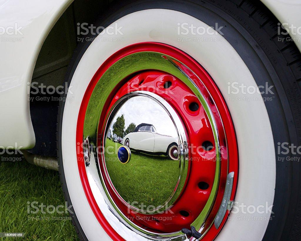 Hubcap royalty-free stock photo