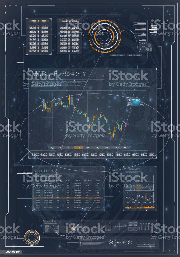 HUD Pour Conception De Marketing Gestion Lordinateur Analyse