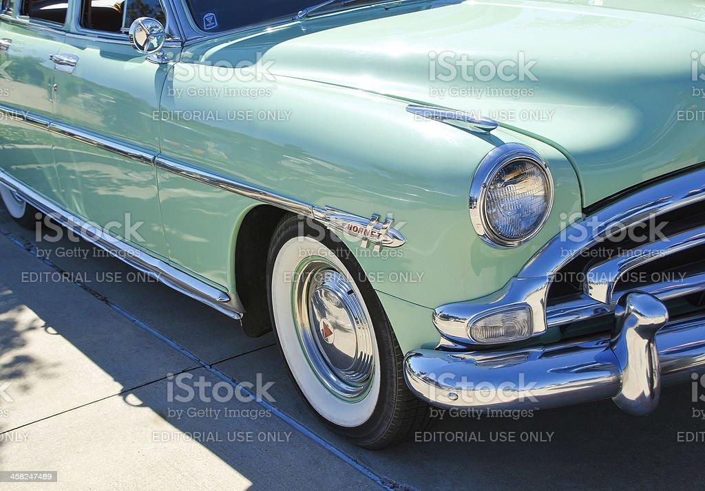Hudson 1952 Hornet Sedan stock photo