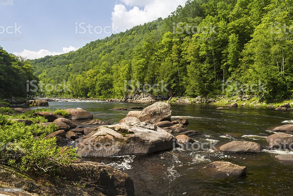 Hudson River Gorge stock photo