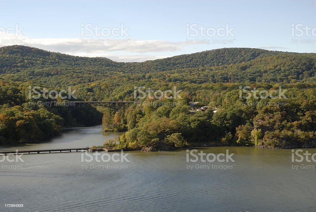 Hudson River royalty-free stock photo