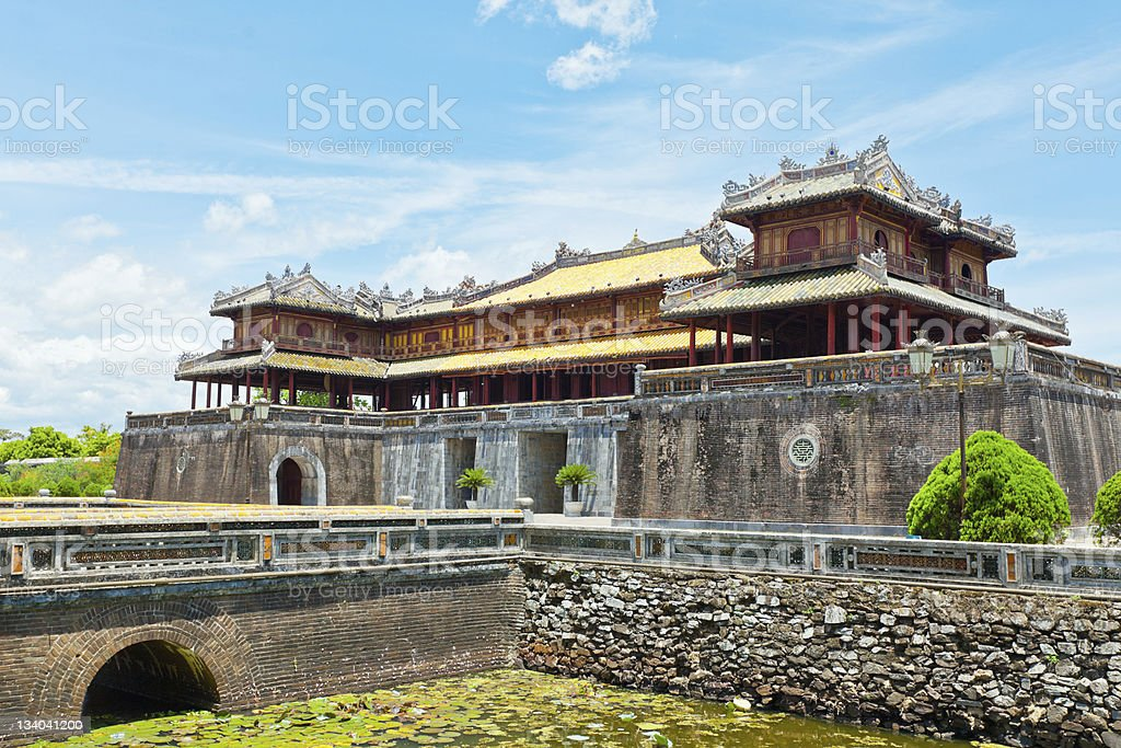 Hue Citadel stock photo