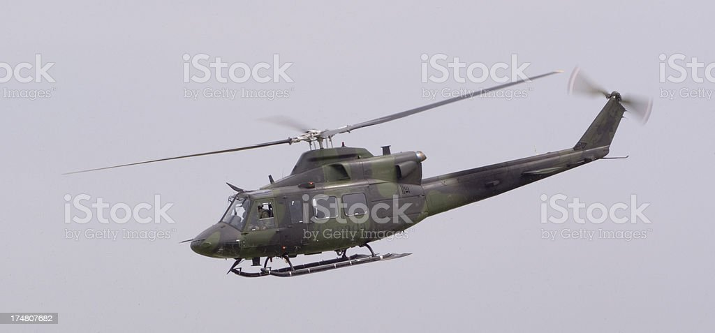 huey - flying stock photo