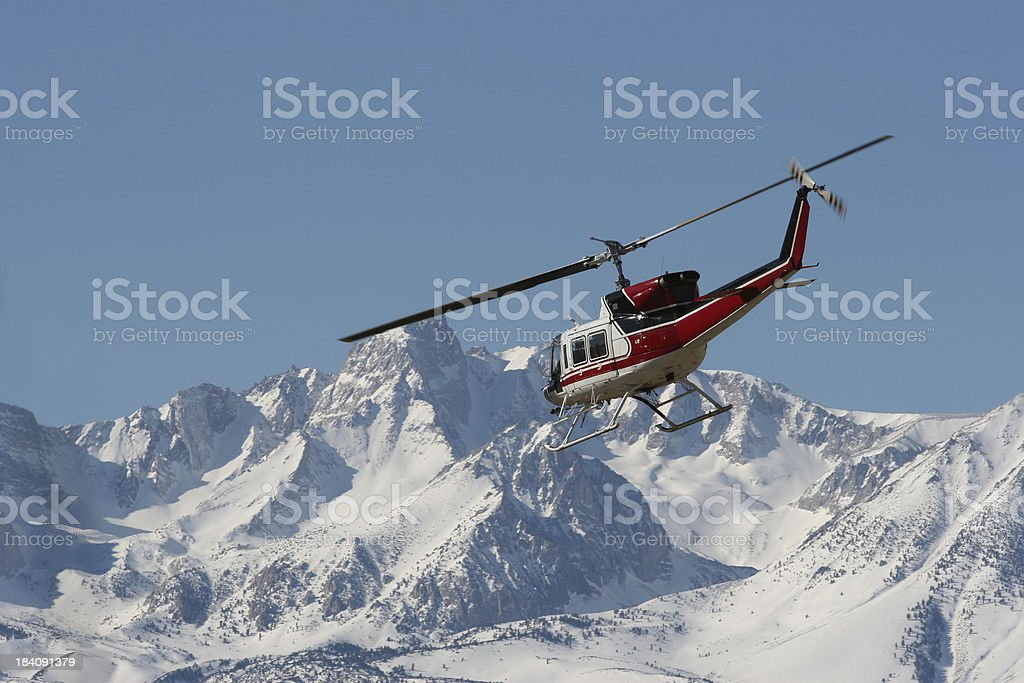 Huey Helicopter 08 royalty-free stock photo