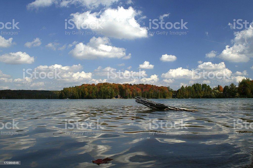 huffman lago 3 foto de stock libre de derechos