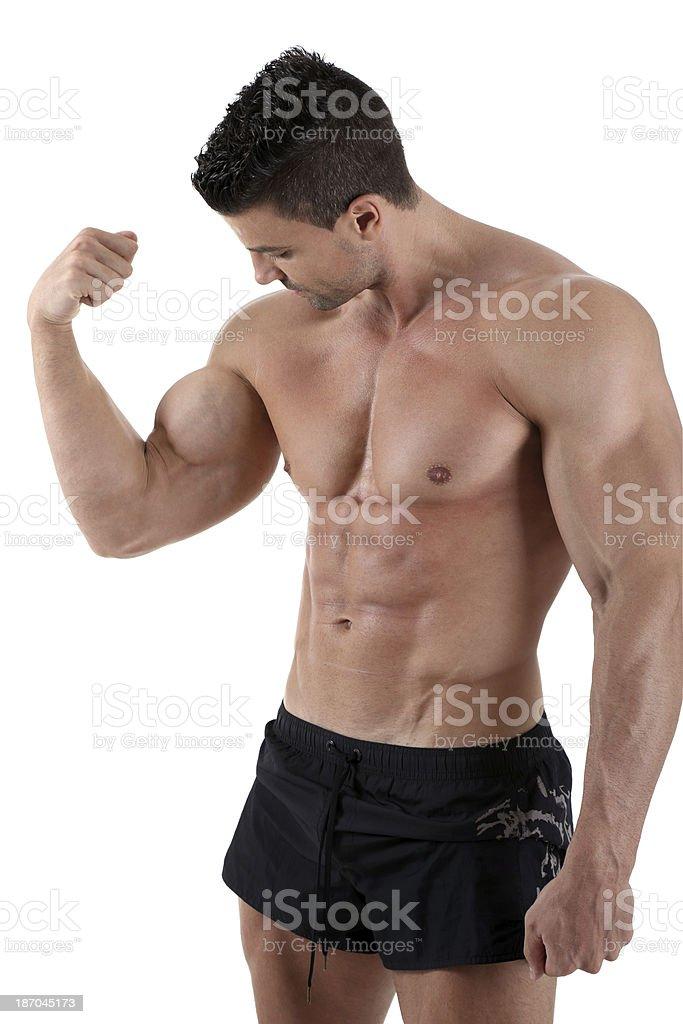Big dick und Bauchmuskeln