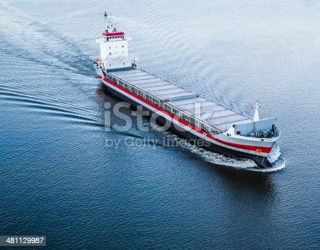 483418977istockphoto Huge cargo ship at the Hudson River 481129987