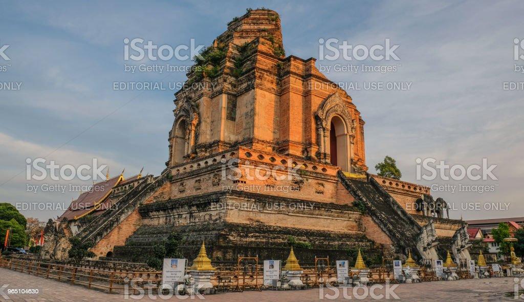 Huge central pagoda zbiór zdjęć royalty-free