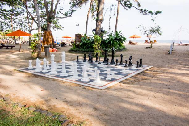 Riesiges Schachbrett – Foto