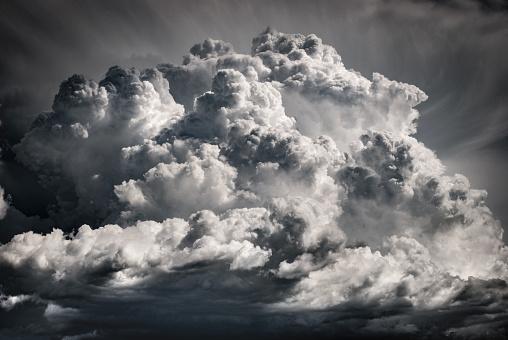 A huge cloud bringing the storm - large cumulonimbus