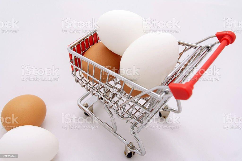 Huge Eggs royalty-free stock photo
