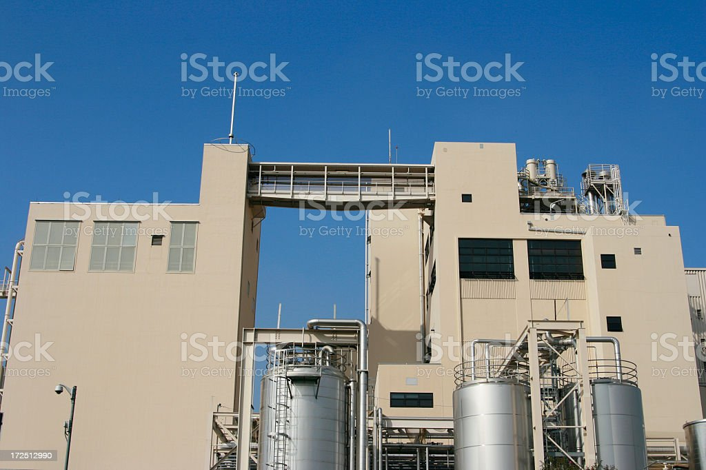 Huge Factory royalty-free stock photo