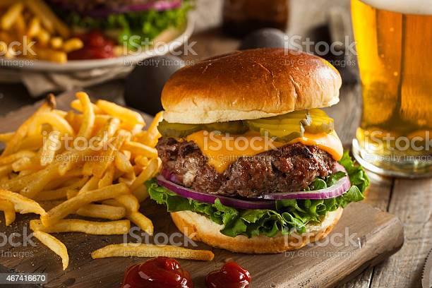 Huge grass fed bison hamburger with chips beer picture id467416670?b=1&k=6&m=467416670&s=612x612&h=g3 fyh8g0iwoi j qtopgf87yjgybhttxwprg 8ei24=
