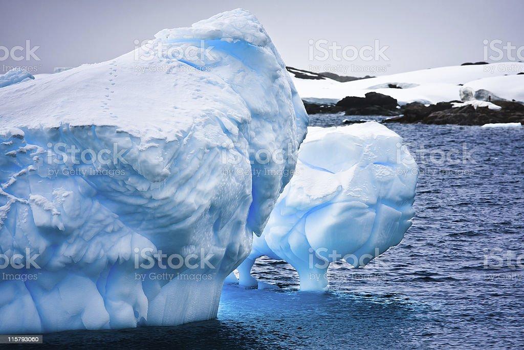 Huge iceberg in Antarctica royalty-free stock photo