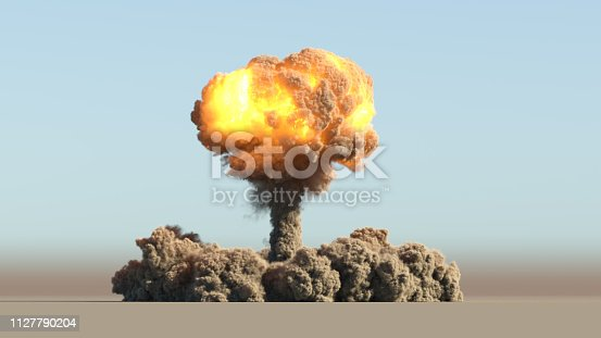 istock Huge nuclear explosion 1127790204