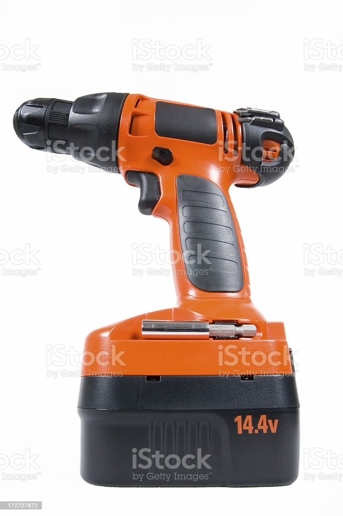 Huge Orange Drill royalty-free stock photo