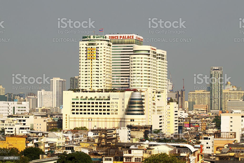 Huge Prince Palace complex royalty-free stock photo