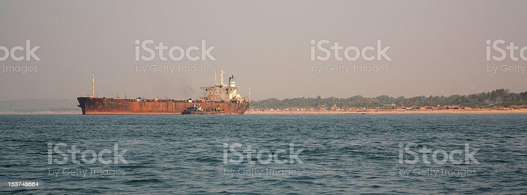 Huge River Princess Goa stock photo