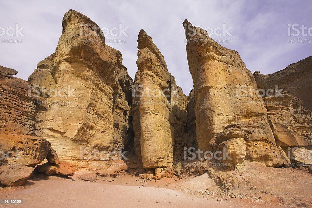 Huge rocks royalty-free stock photo