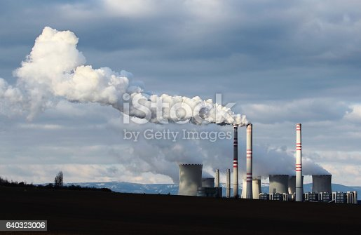 istock huge smoke from brown coal power plant factory 640323006