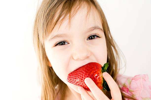 Huge Stawberry stock photo