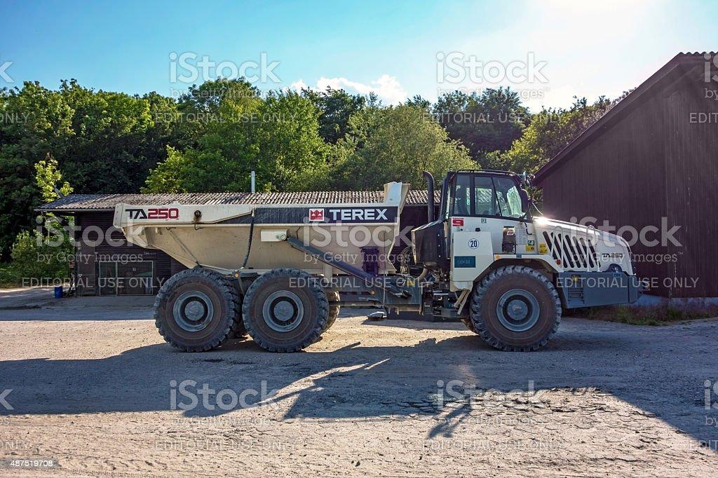 Huge Truck stock photo