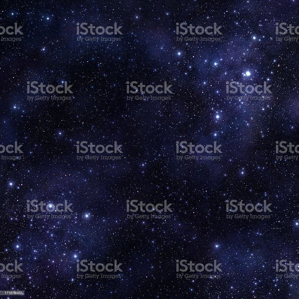 Huge Vibrant Space stock photo