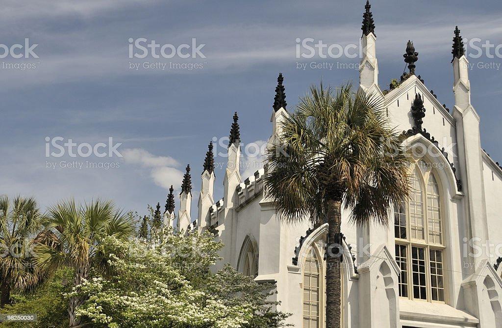 Hugenot Church, Charleston, South Carolina royalty-free stock photo