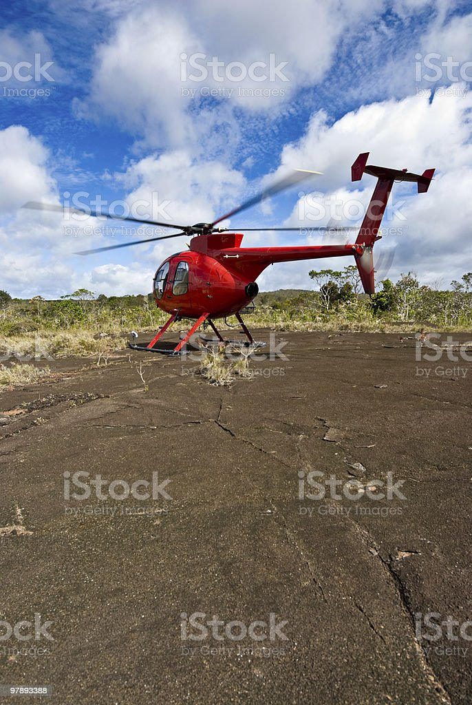 Huges Helicopter royalty-free stock photo