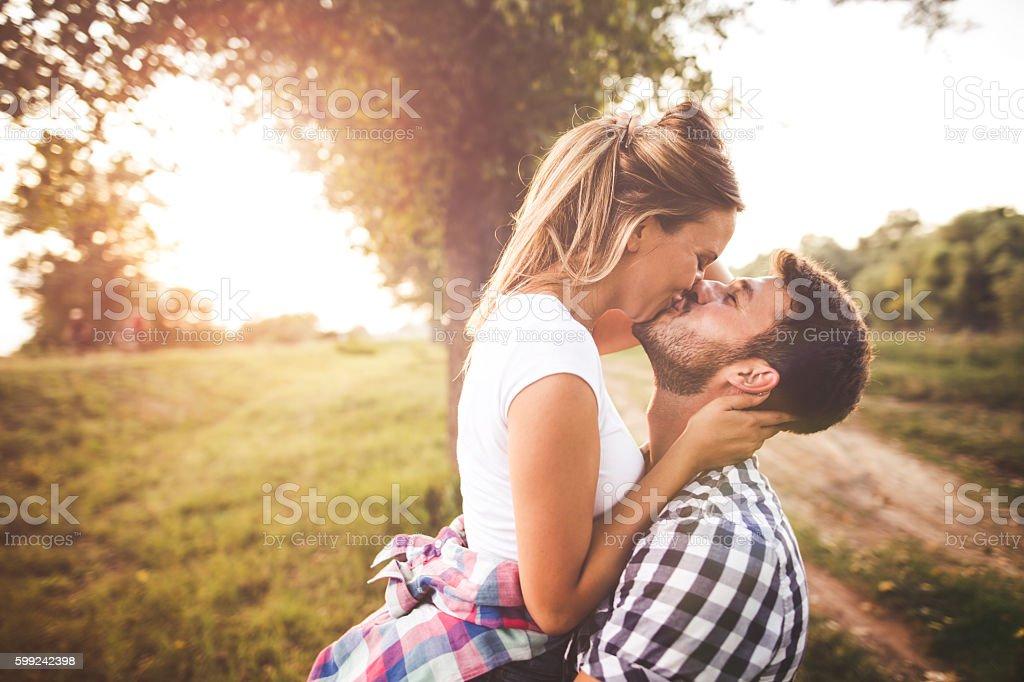 Abbracciare  - foto stock