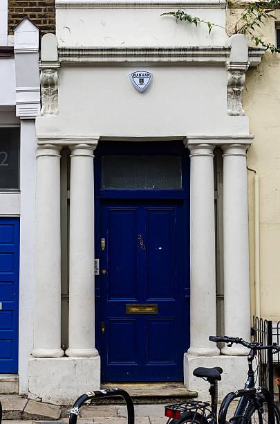 Hugh Grant Notting Hill puerta - foto de stock