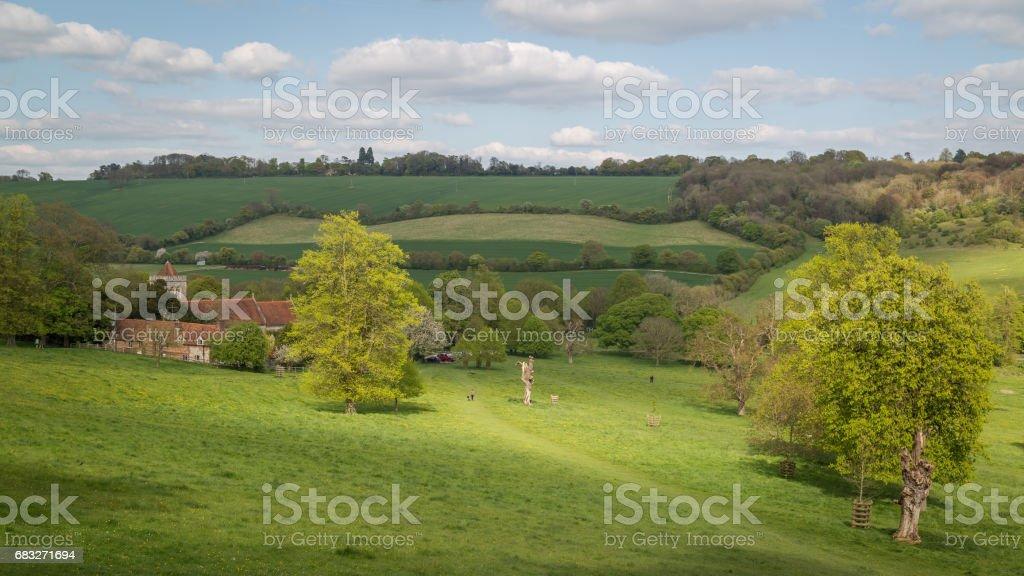 Hughenden Valley, UK foto de stock royalty-free