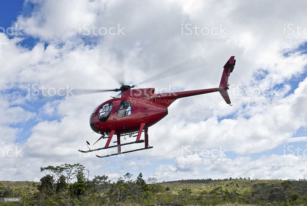 Hughes Helicopter royalty-free stock photo