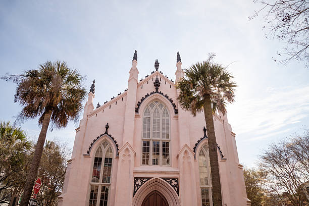 Hugenotten Kirche von Charleston, South Carolina – Foto