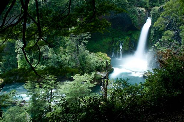 Huilo-Huilo Wasserfall – Foto