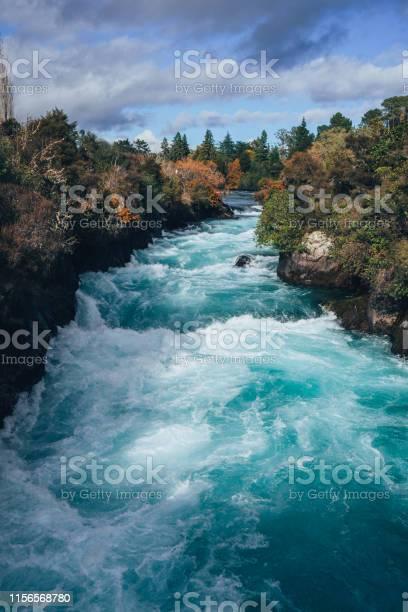 Photo of Huka Falls River in New Zealand