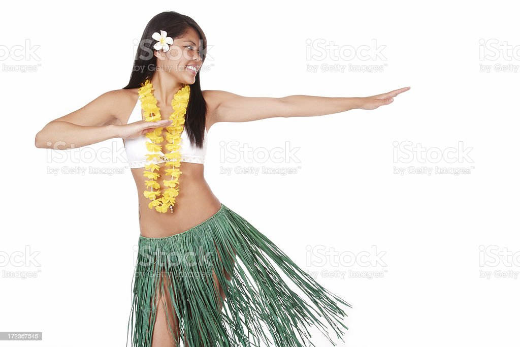 Hula Dancer royalty-free stock photo
