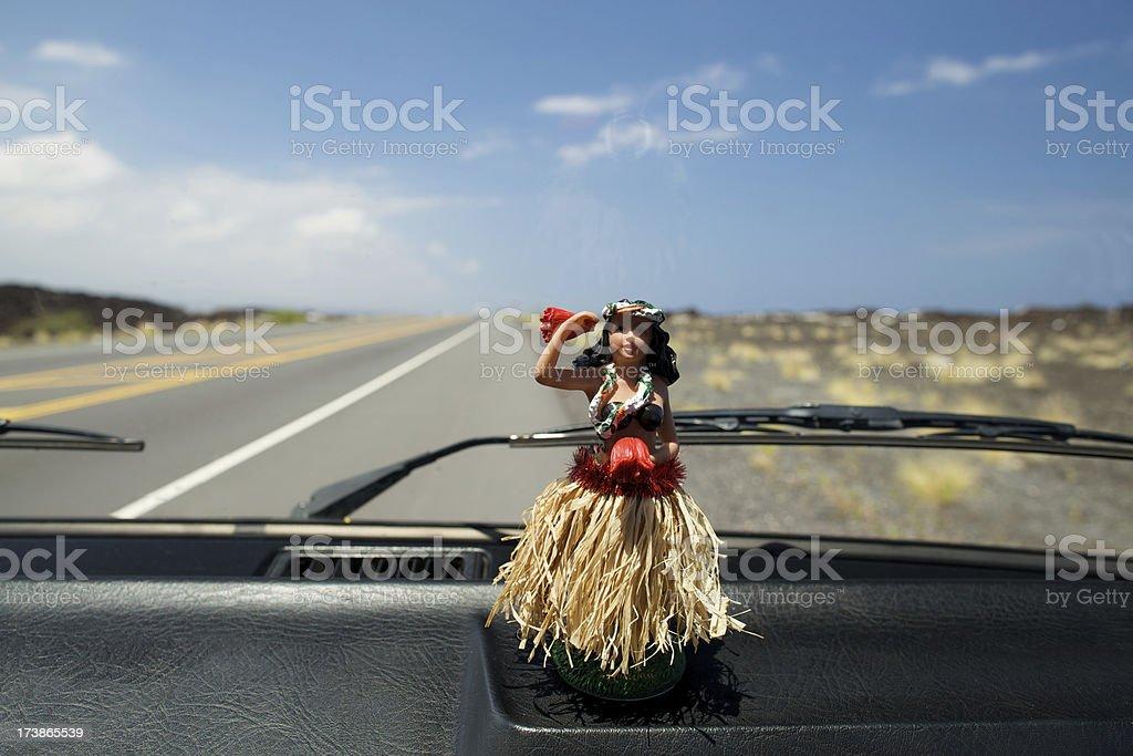 Hula Doll royalty-free stock photo