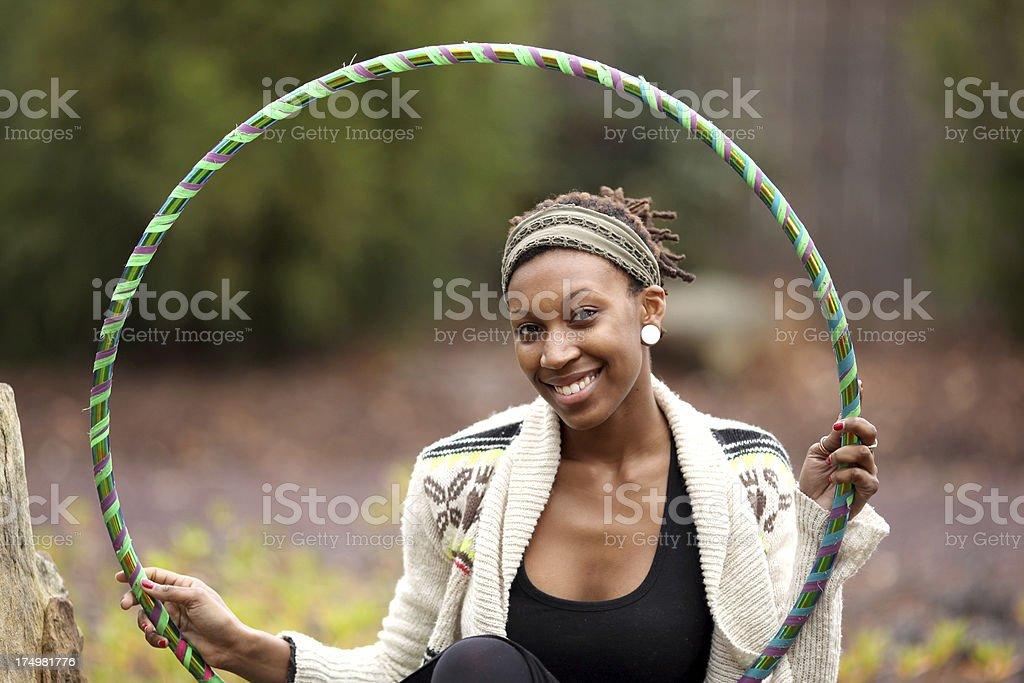 Hula Hoop royalty-free stock photo