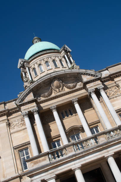 Hull City Hall Yorkshire England UK in Winkel – Foto